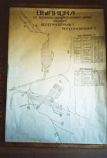 Схема в диспетчерской